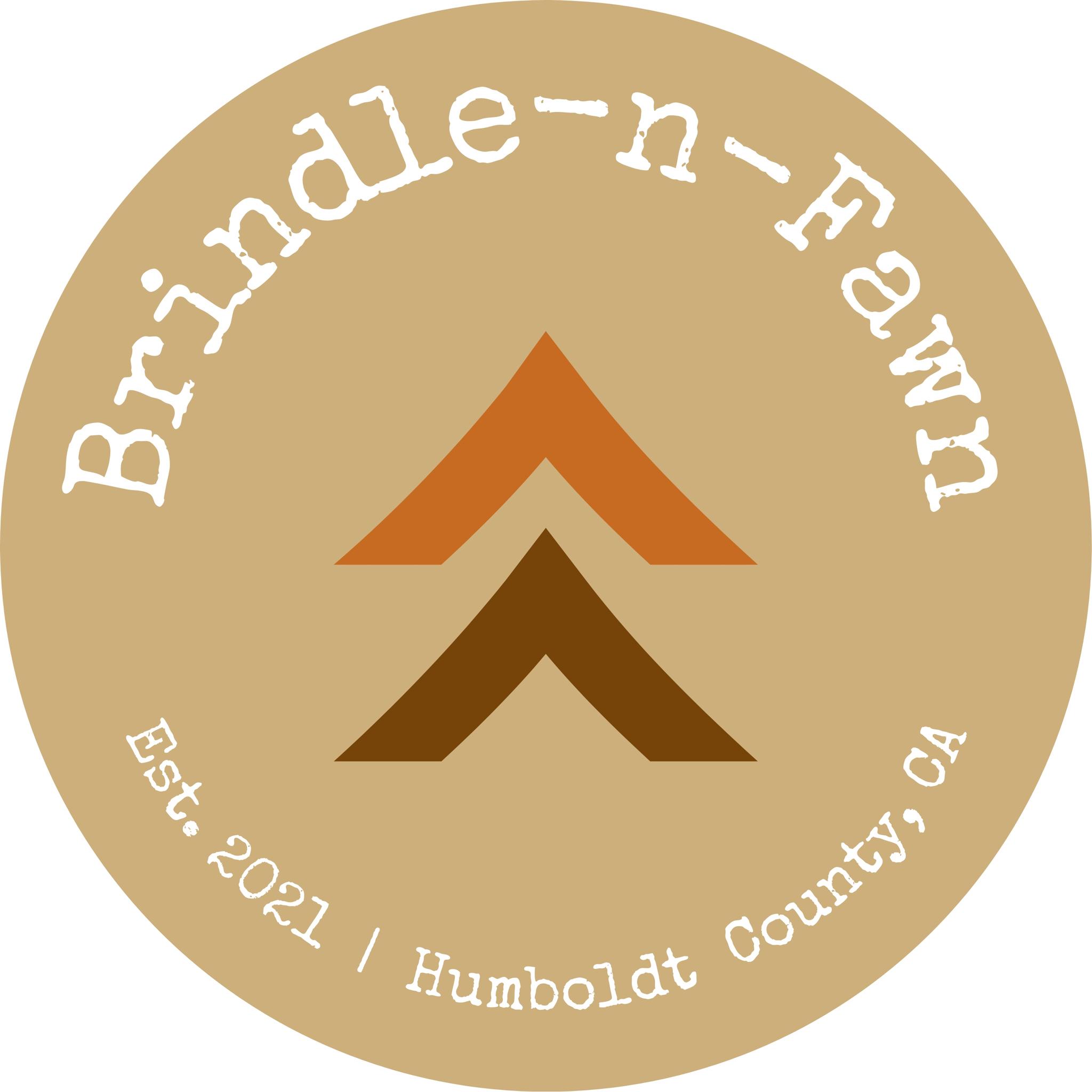 Brindle-n-Fawn Logo